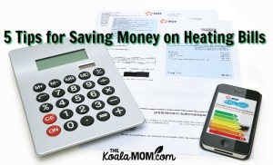 5 Tips for Saving Money on Heating Bills