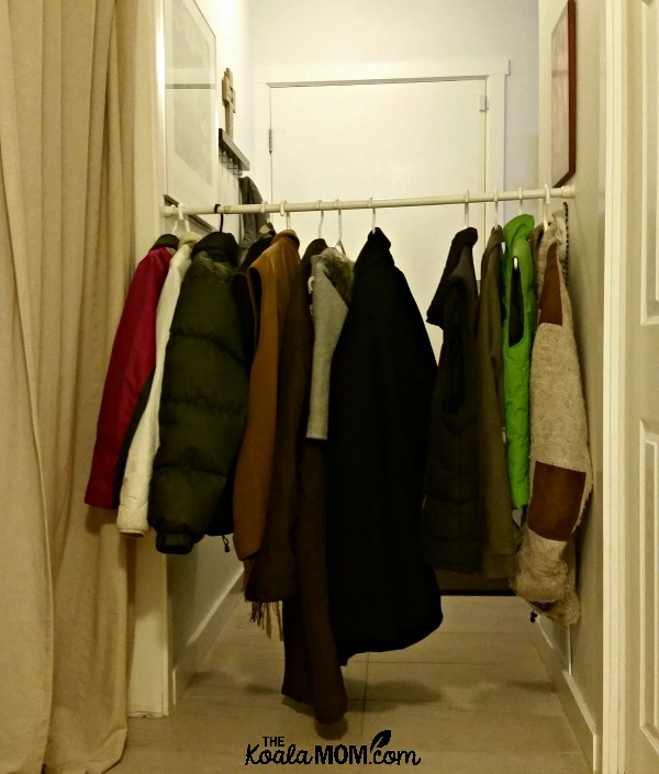 Through the wardrobe into Narnia!