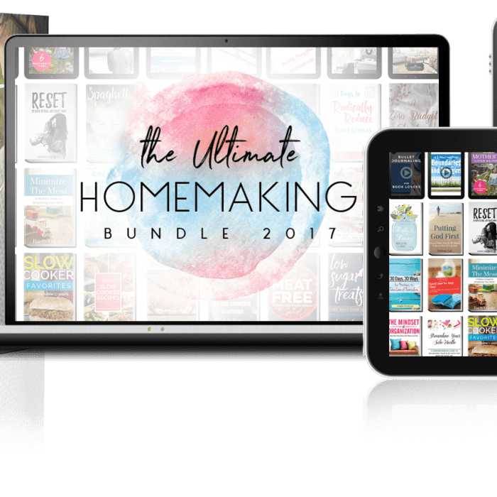 the ultimate homemaking bundle 2017