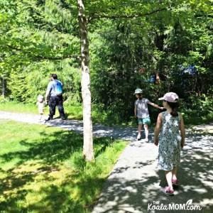 Hiking Buntzen Lake Recreation Area