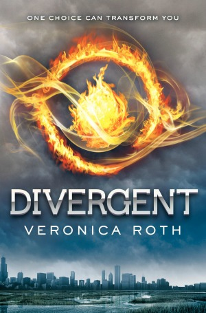 Divergent by Veronica Roth (book 1 in the Divergent trilogy)