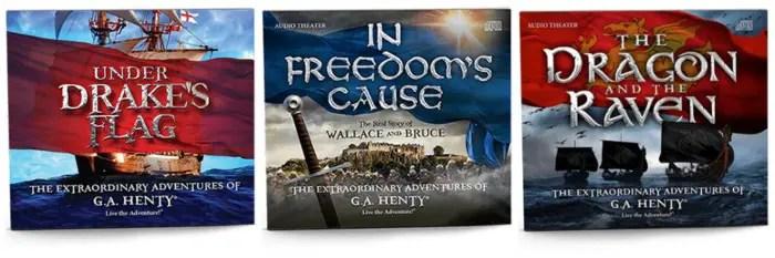 G.A. Henty Audiobooks