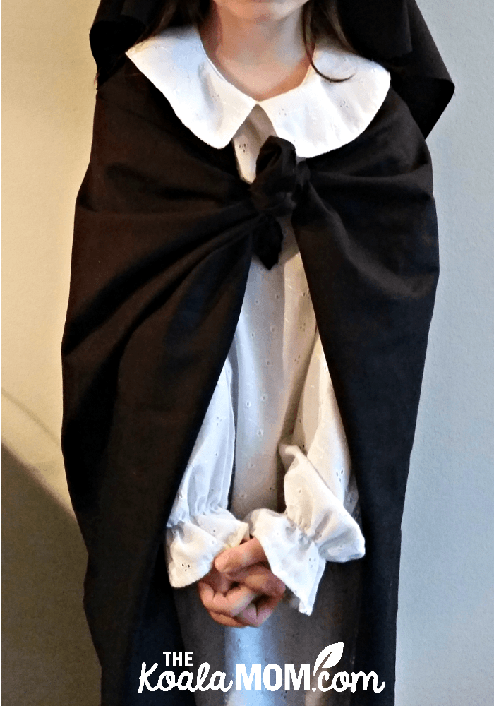 Saint Rose of Lima costume