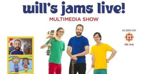 Join me at the Will's Jams Live Multimedia Show!