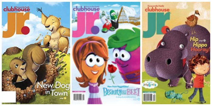 Clubhouse Jr. Magazine