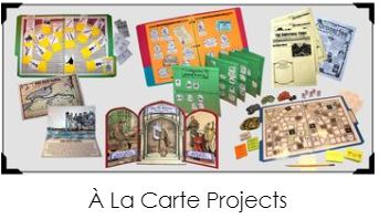A La Carte Products from Homeschool in the Woods
