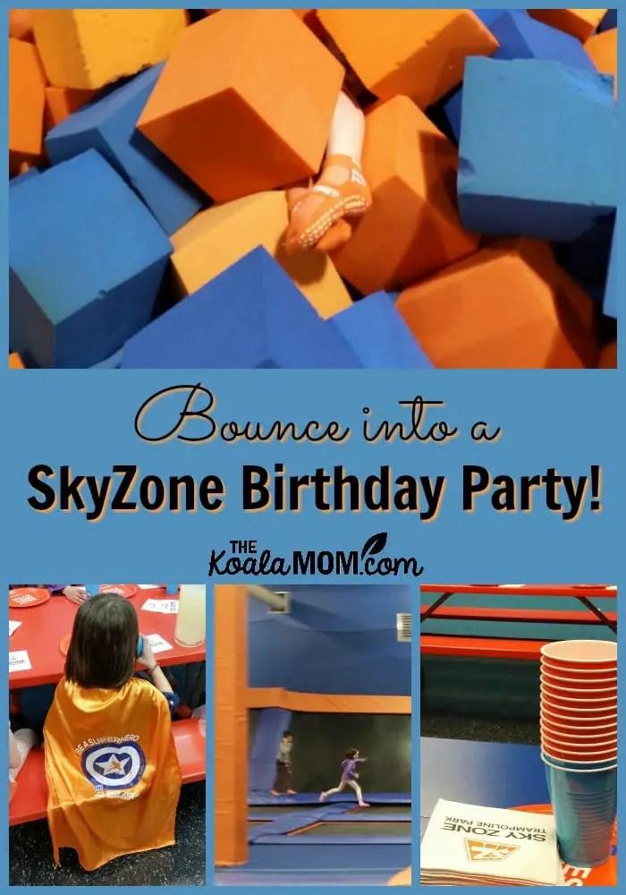 skyzone birthday party the koala mom