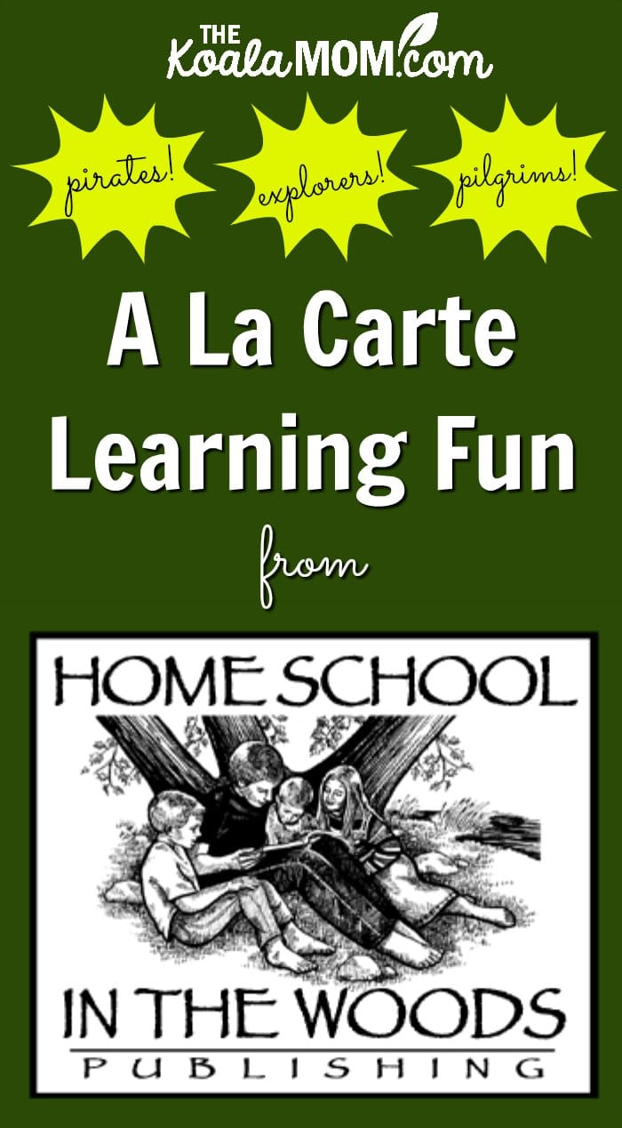 A La Carte History Fun from Homeschool in the Woods