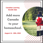 The Canadian Learning Bundle is NOW on SALE!