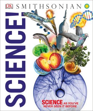 Science! is DK book filled with 3D computer-generated images and easy-to-read text that will make science exciting for kids and adults alike.
