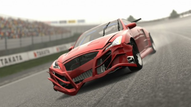 Its got damage init! Picture taken by James G Via GT5's picture mode