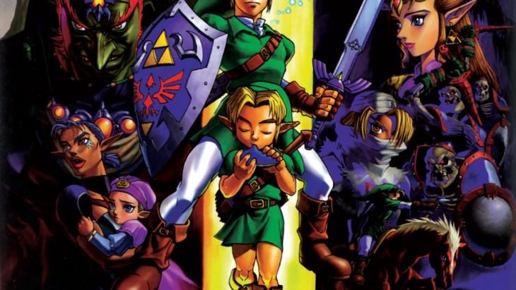 Zelda Comparison 64 3ds