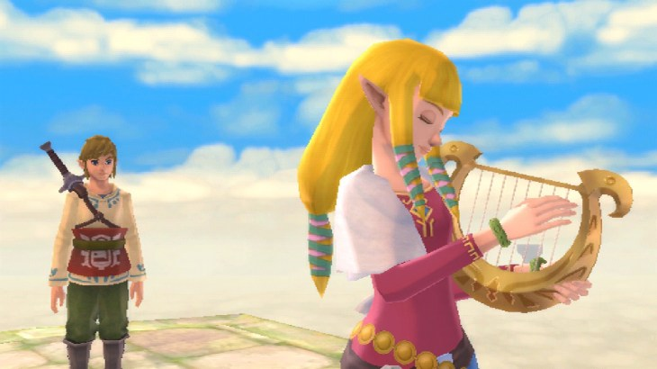zelda harp