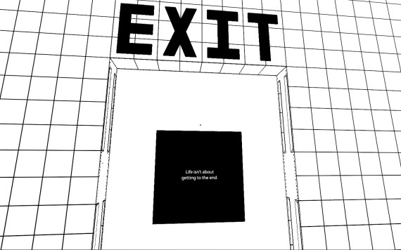 Antichamber Exit Door
