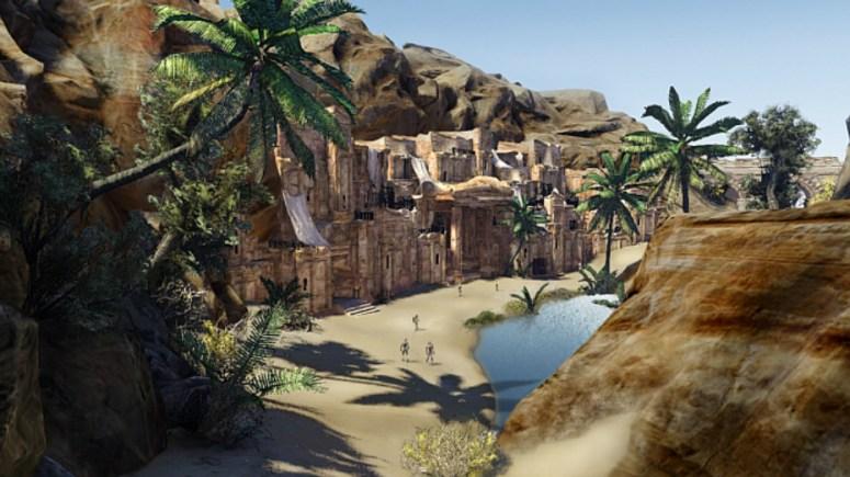Dead Dunes Village.