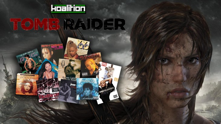tomb raider playlist cover