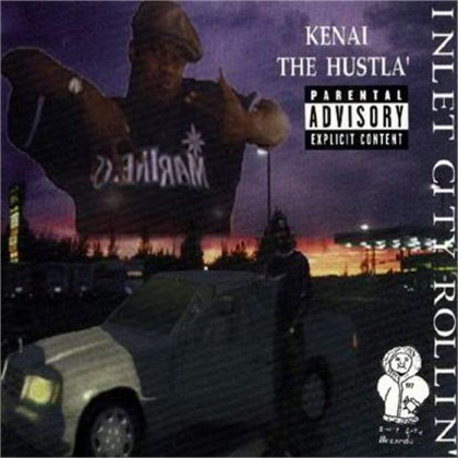 worst hip-hop album covers kenai the hustla inlet city rollin