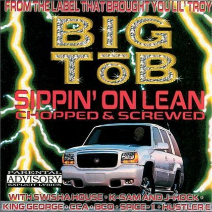 worst hip-hop album covers big tob sippin on lean