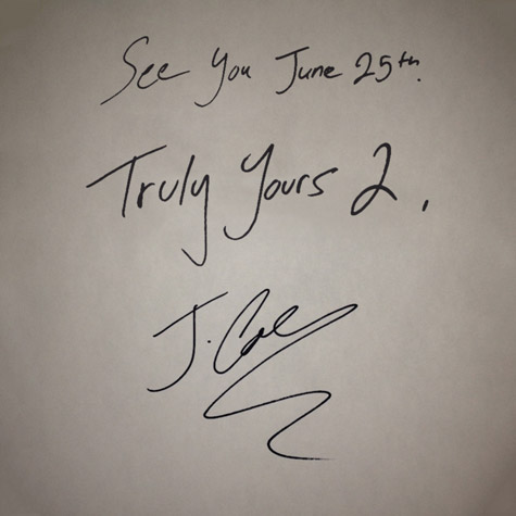 J. Cole Truly Yours EP