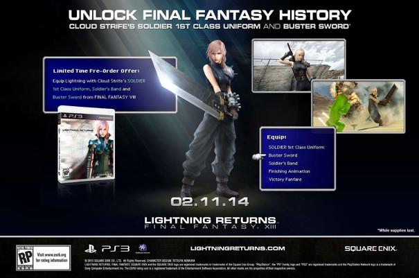 Lightning Returns: Final Fantasy Pre-order