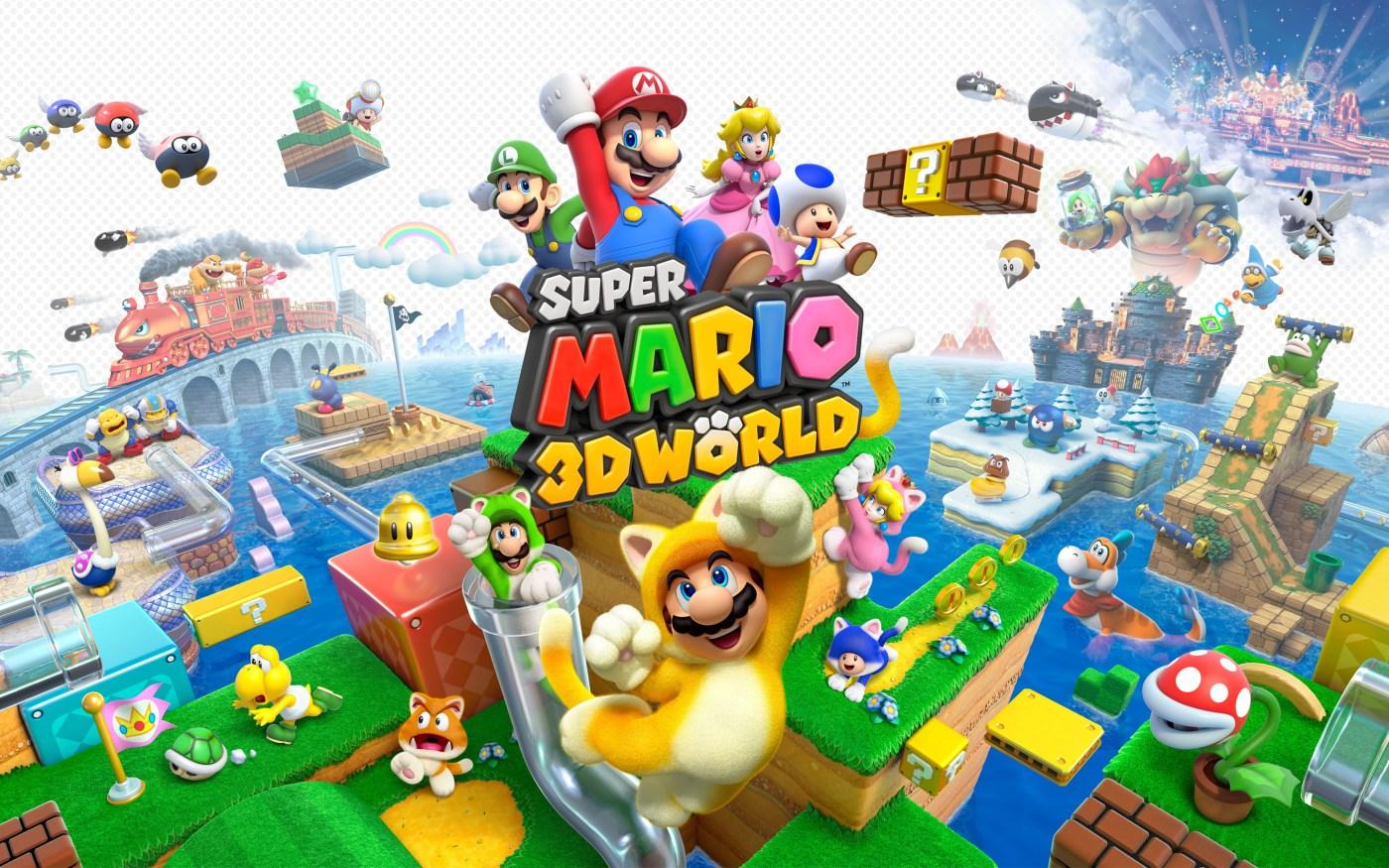 2) Super Mario 3D World
