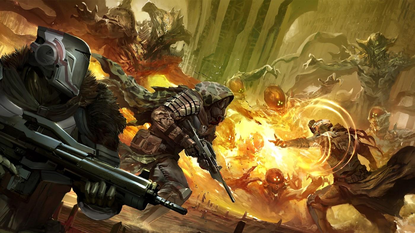 Destiny fireteam concept art