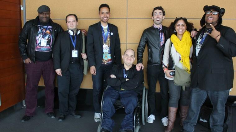 From left to right: Jeffrey Wilson, Gabe Zamora, Johnathan Gibbs, myself, Tim Torres, Dianna Lora, Isaac Rouse.