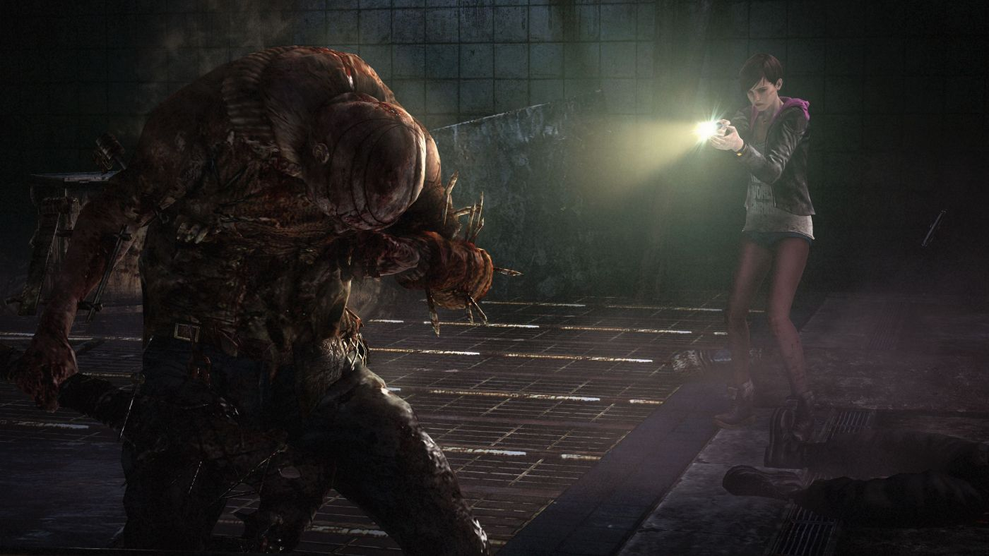 Resident Evil Revelations 2 light