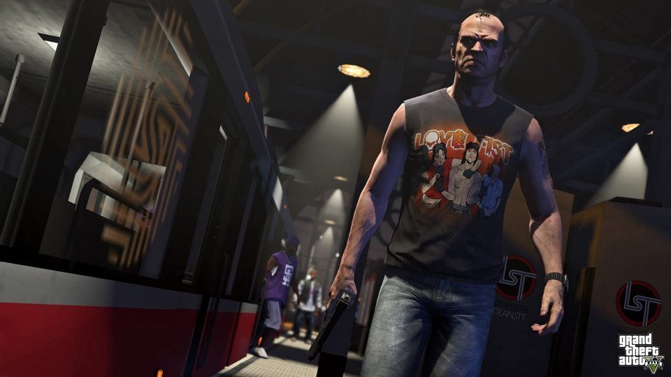 Grand Theft Auto V - Trevor