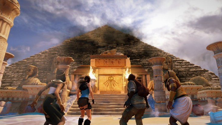 Lara Croft and the Temple of Osiris screen 1