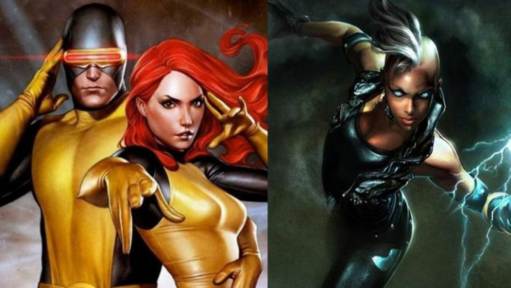 Cyclops, Jean Grey, Storm