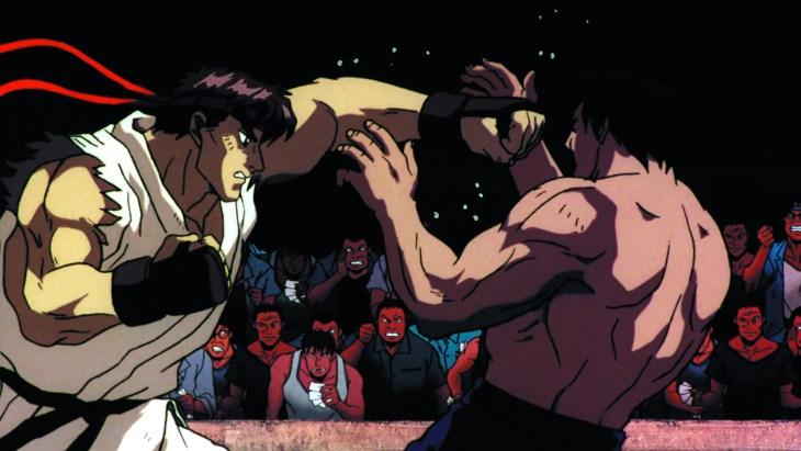Street Fighter II The Movie - Ryu vs Fei Long