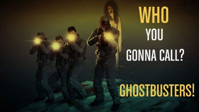 Nikacoma enlisted the easter egg ghost to pay homage to the Ghostbusters.