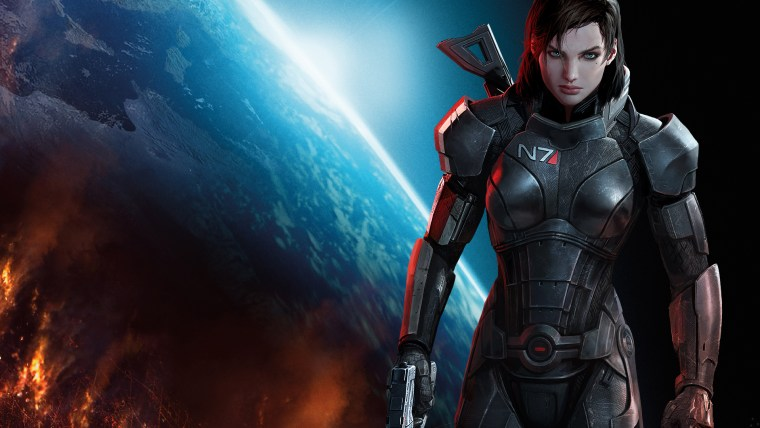 Female Commander Shepard