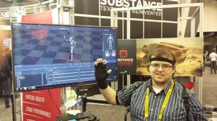GDC 2015 Perception Neuron Demo