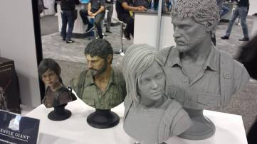 GDC 3D Printing Last of Us Molds