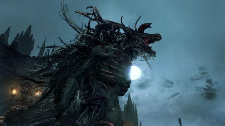 bloodborne - Cleric beast