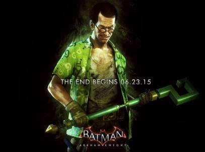 Batman Arkham Knight - Riddler