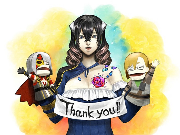 Bloodstained thank you