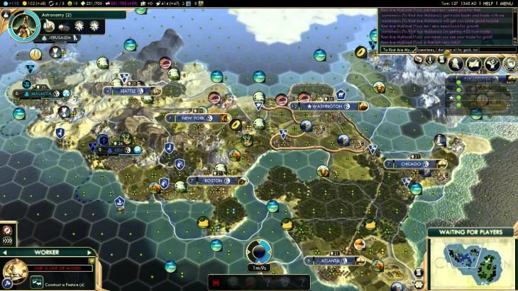 Civ5 Screenshot America