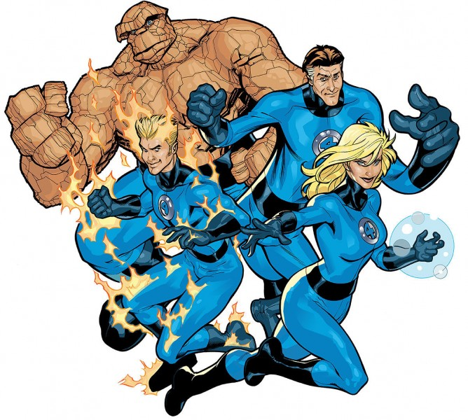Fantastic Four Terry Dodson