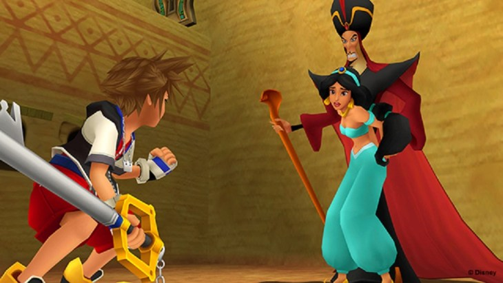 KingdomHeartsDefinitiveRetrospectivePart1_DisneyAladdinCameo
