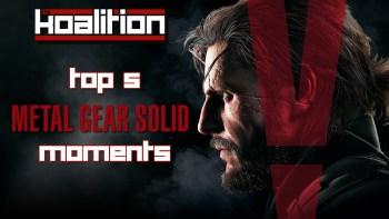 Top 5 Metal Gear Moments