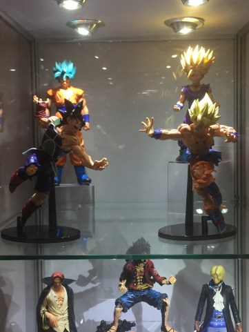 Some cool Dragon Ball Z and anime figures