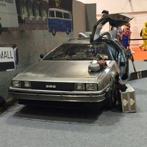 Delorean Back to the Future Comic Con