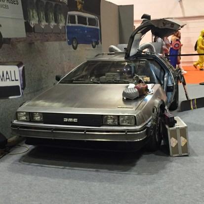 Delorean Back to the Future Comic Con