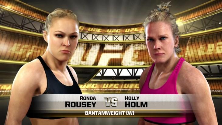 UFC 193: Rousey vs. Holm - Women's Bantamweight Title Match