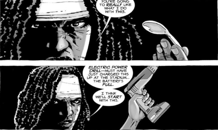 6. Michonne Torture