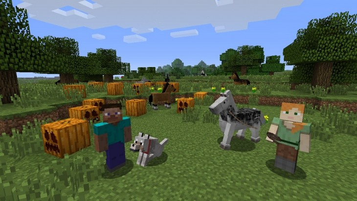 MinecraftWii UReview_Pic02