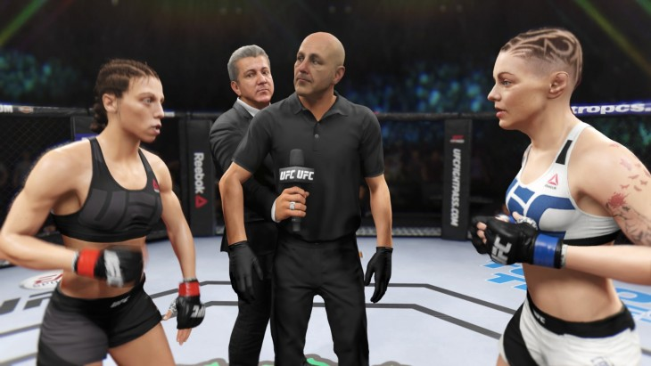 The strawweights are a new welcome addition to the EA Sports UFC roster.